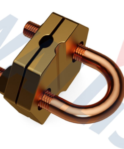 AN Wallis 'U' Bolt Clamps – Double Plate Type For Vertical Stranded Cables