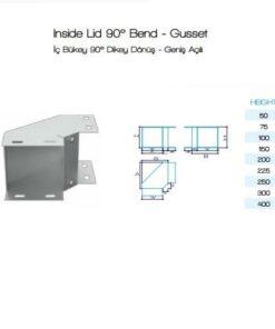 Inside Lid 90° Bend – Gusset