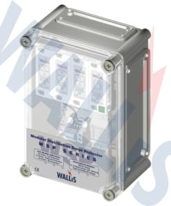 AN Wallis Mains Distribution Protection WSP415M2 (MAINS, TYPE 2), WSP3/150/12 (MAINS TYPE 2)
