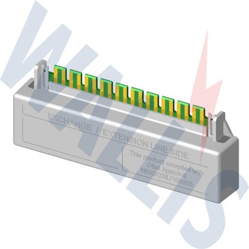 AN Wallis Telecom Protection WSPTLP/10LR (DATA, TYPE 2)
